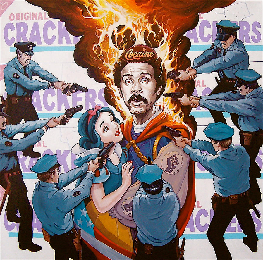 'Pryor On Fire' by davidmacdowell