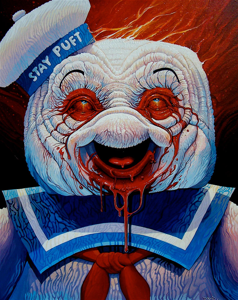 """Who Ya Gunna Call?"" by davidmacdowell"