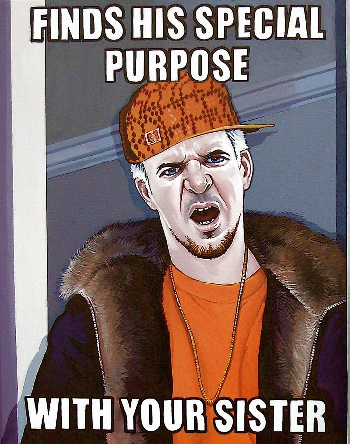 Dirty Rotten Scumbag Steve by davidmacdowell