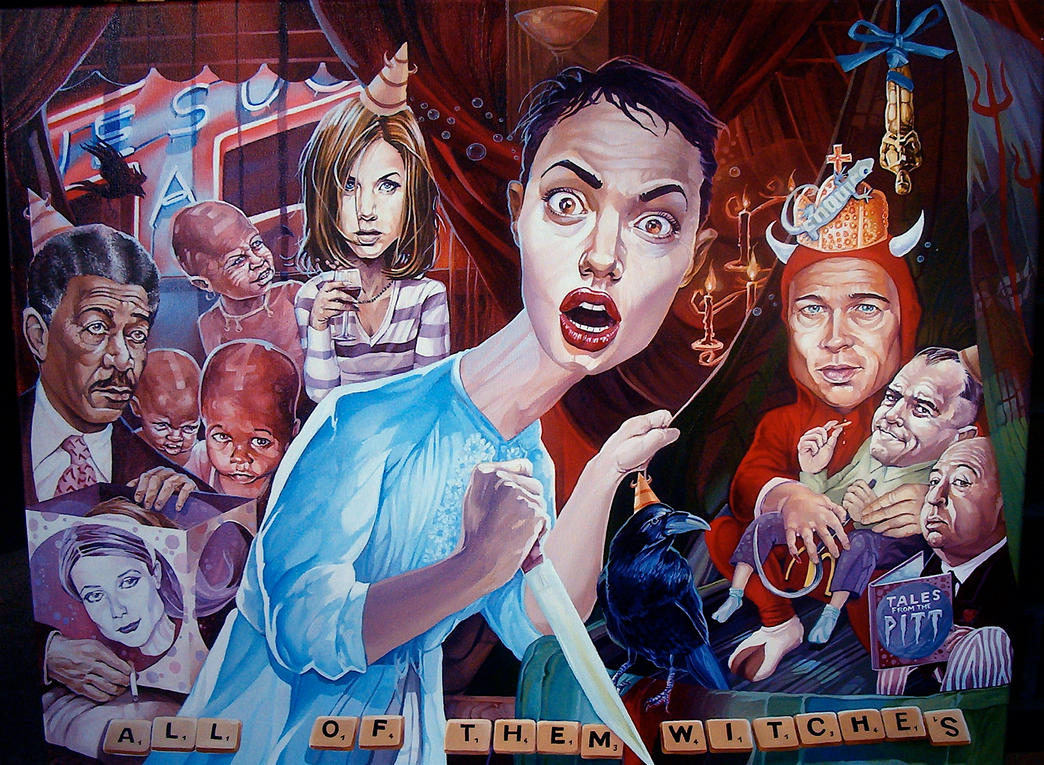 All Of Them Witches by davidmacdowell