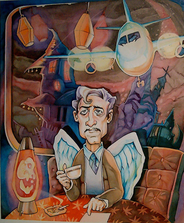 The Psychic Guy by davidmacdowell
