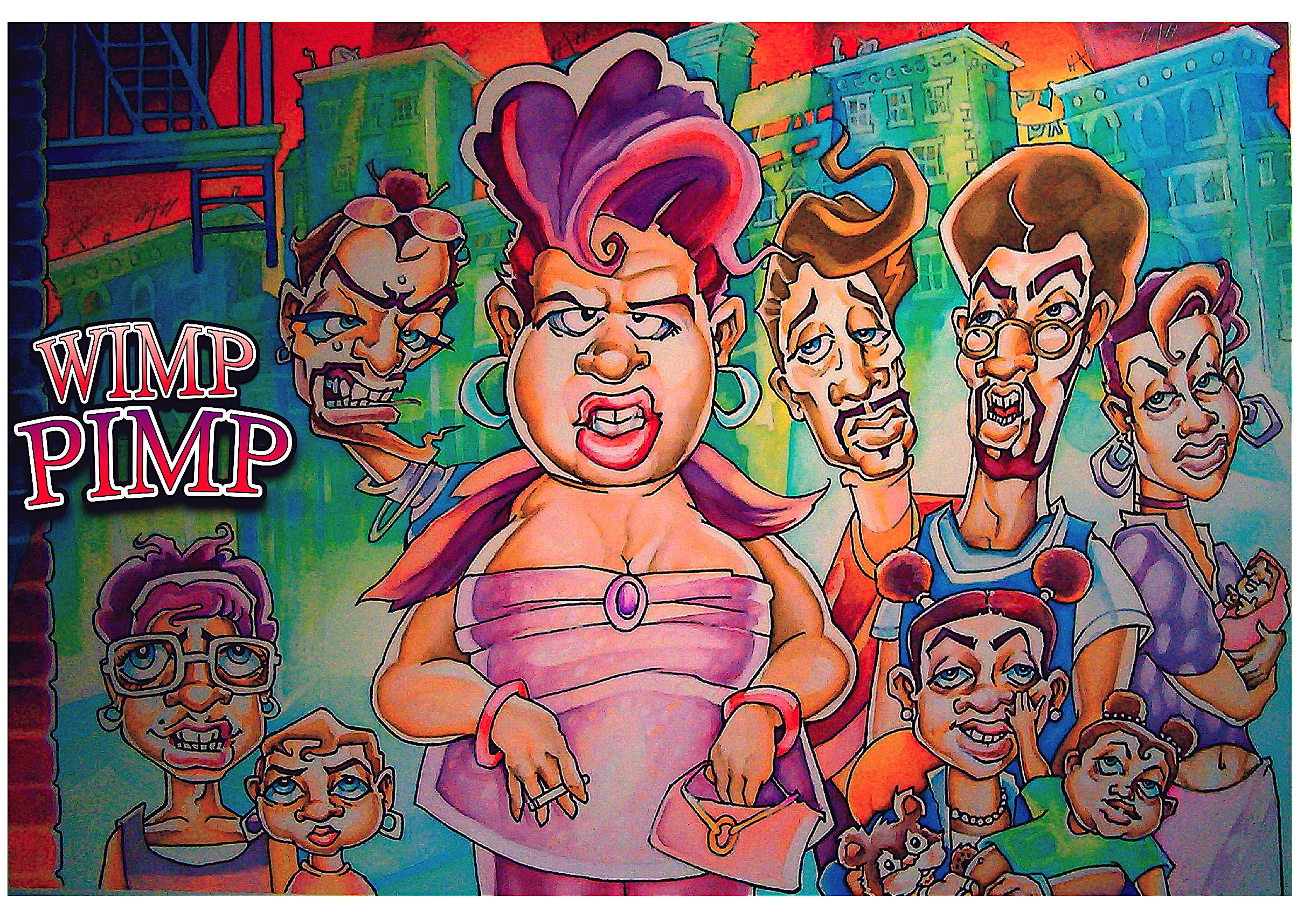 Wimp Pimp by davidmacdowell