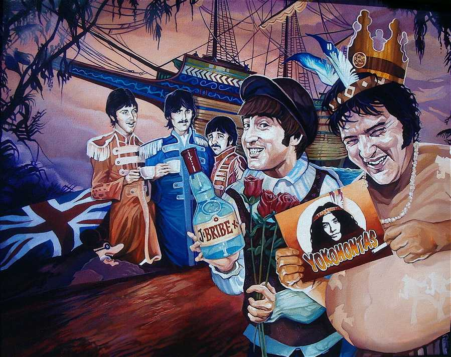 Another British Invasion by davidmacdowell
