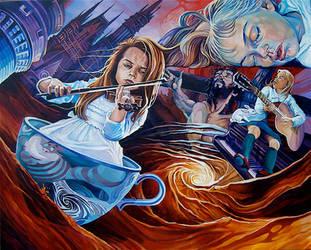 'Go Ask Alice' by davidmacdowell