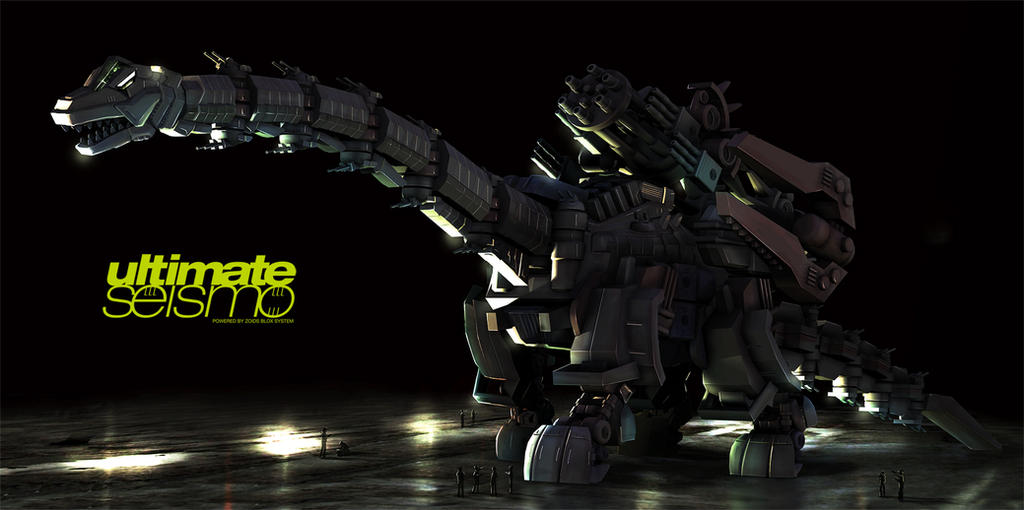 Zoids Ultimate Seismo by yamowl
