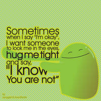 so i hug