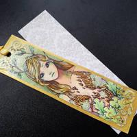Bookmark: Oak Dryad by Speckled-Egg
