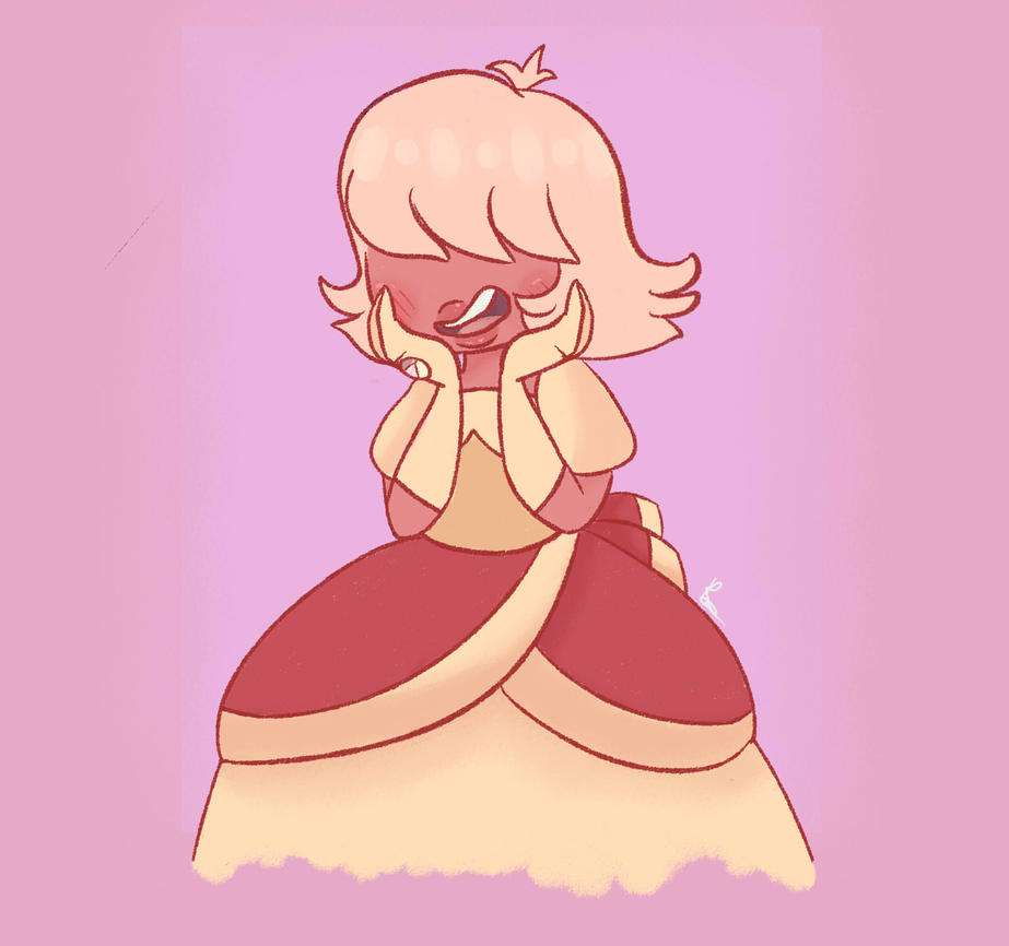 "Here's my favorite ""Off Color"" gem,Padparadscha Sapphire! I adore her design it's so simple and adorable,and her appearance is so childlike at least that's how I see it Character/s belong to: Rebec..."