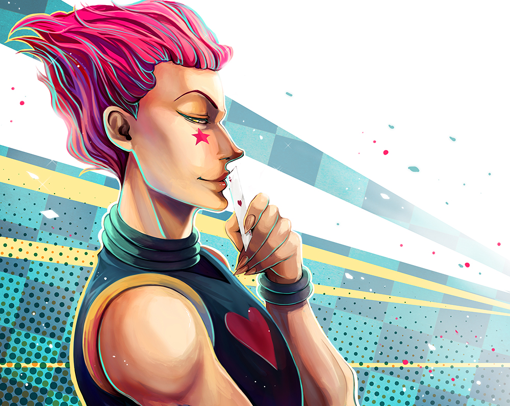 Hisoka by Fiothin