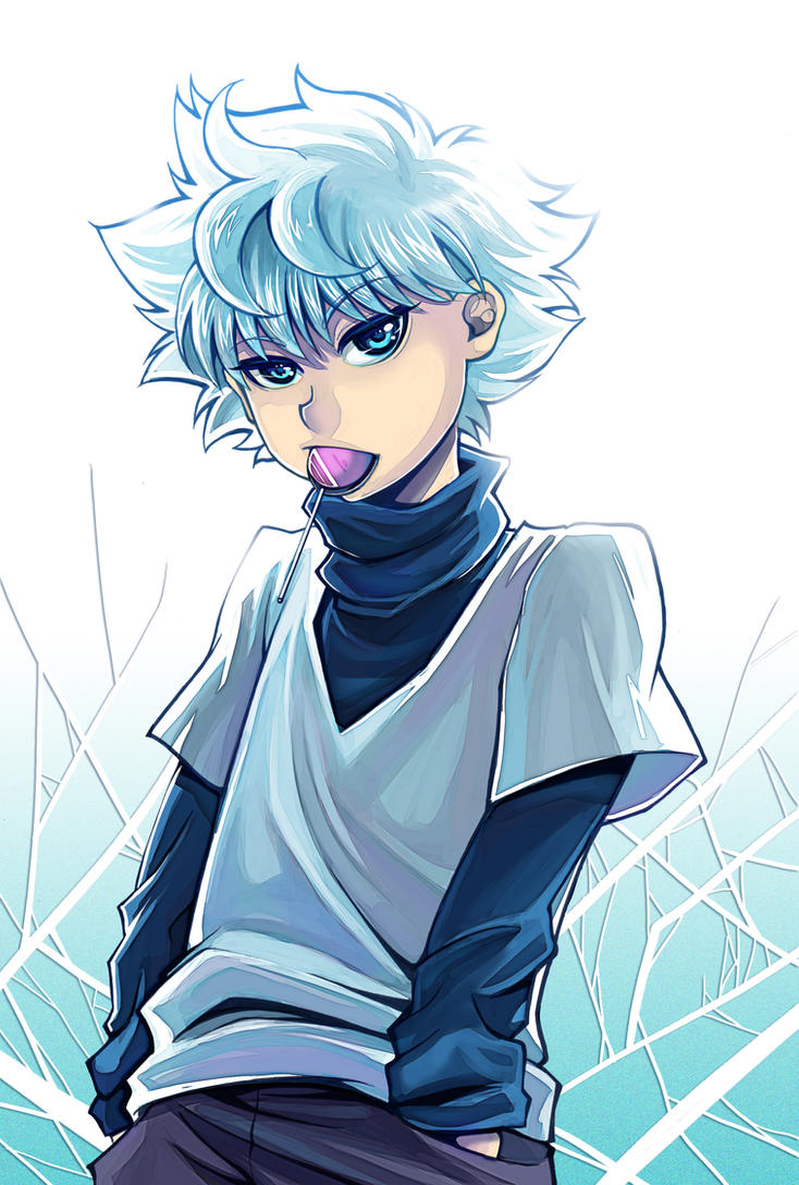 Killua by Fiothin