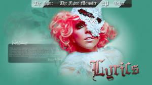 Lady Gaga FanSite Design