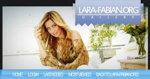 Lara Fabian FanSite Design