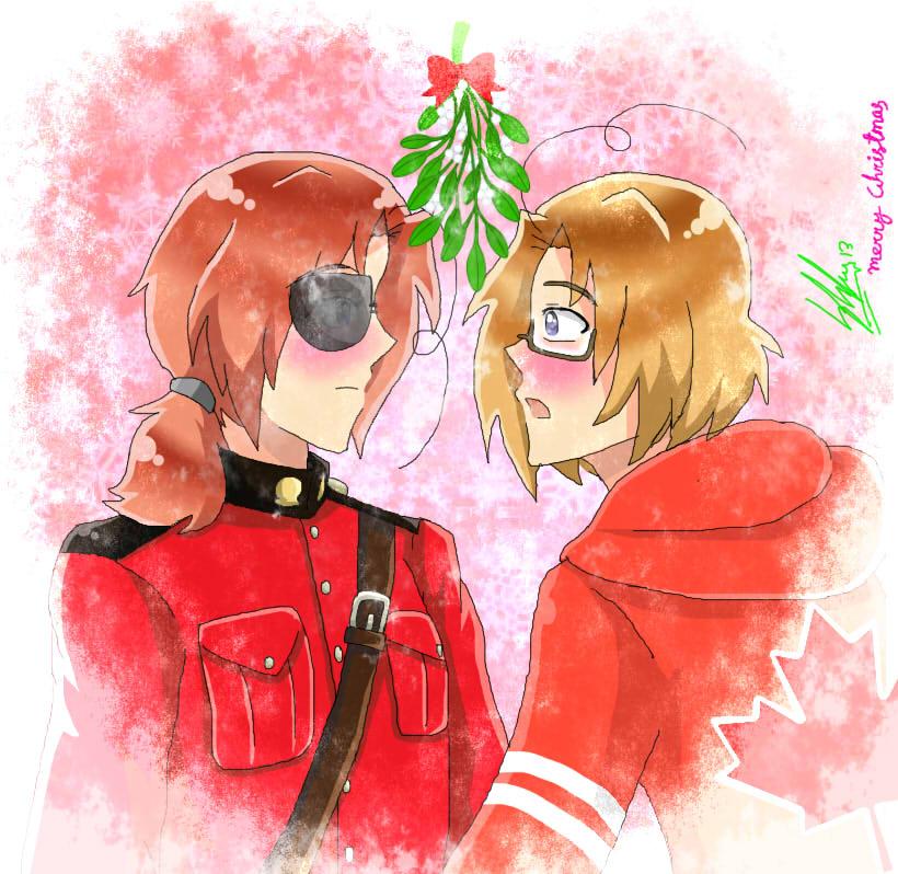 Anime Christmas Kiss