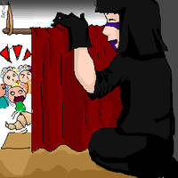 Kankuro's puppet show by Ayuna-chan