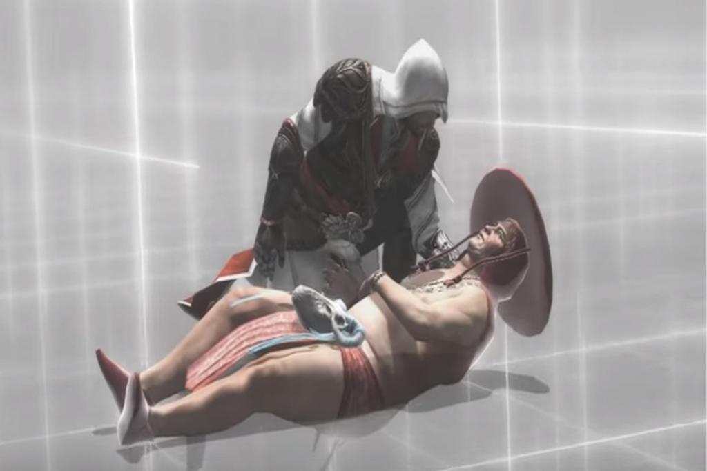 Ezio x reader flirt