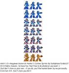 Megaman X Armors 1-3
