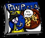 Literal Pan pizza box