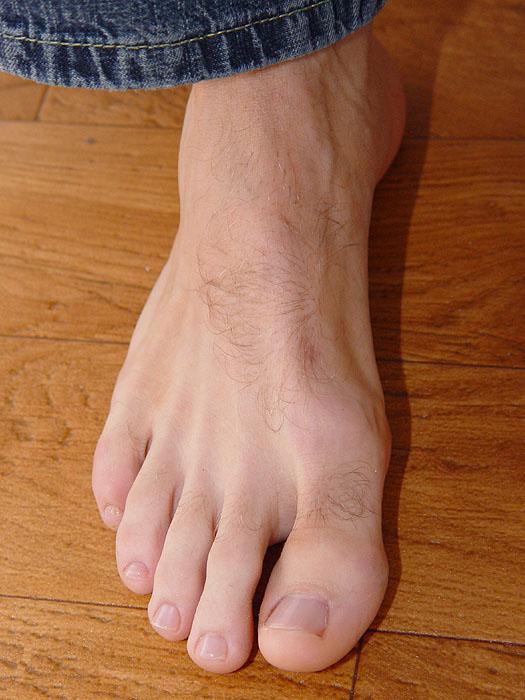 Right foot by dehevia