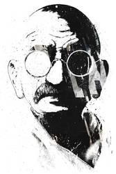 Gandhi by alexcherrypicks