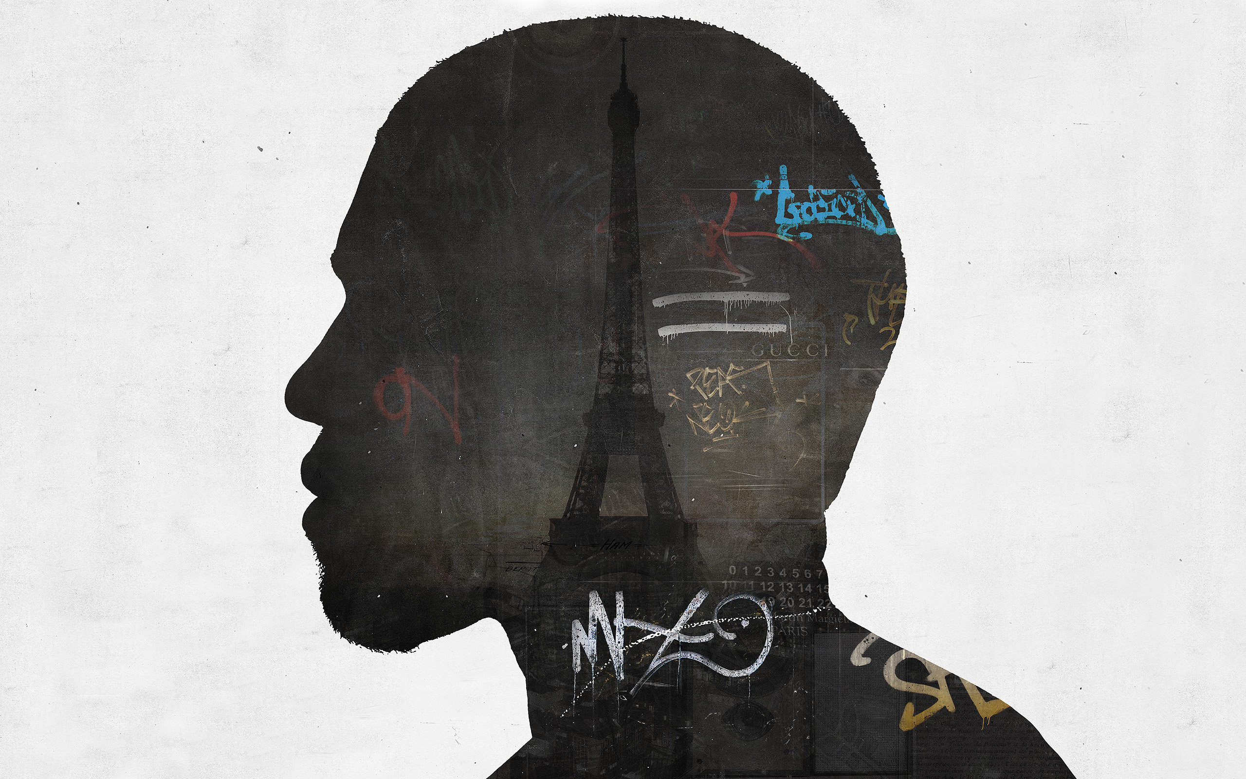 NIGGAS IN PARIS (Kanye West) by axcy