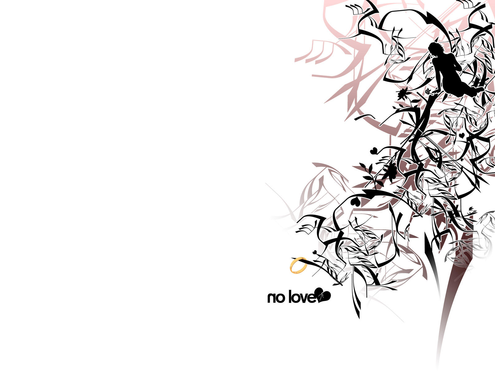 No Love - Wallpaper by axcy
