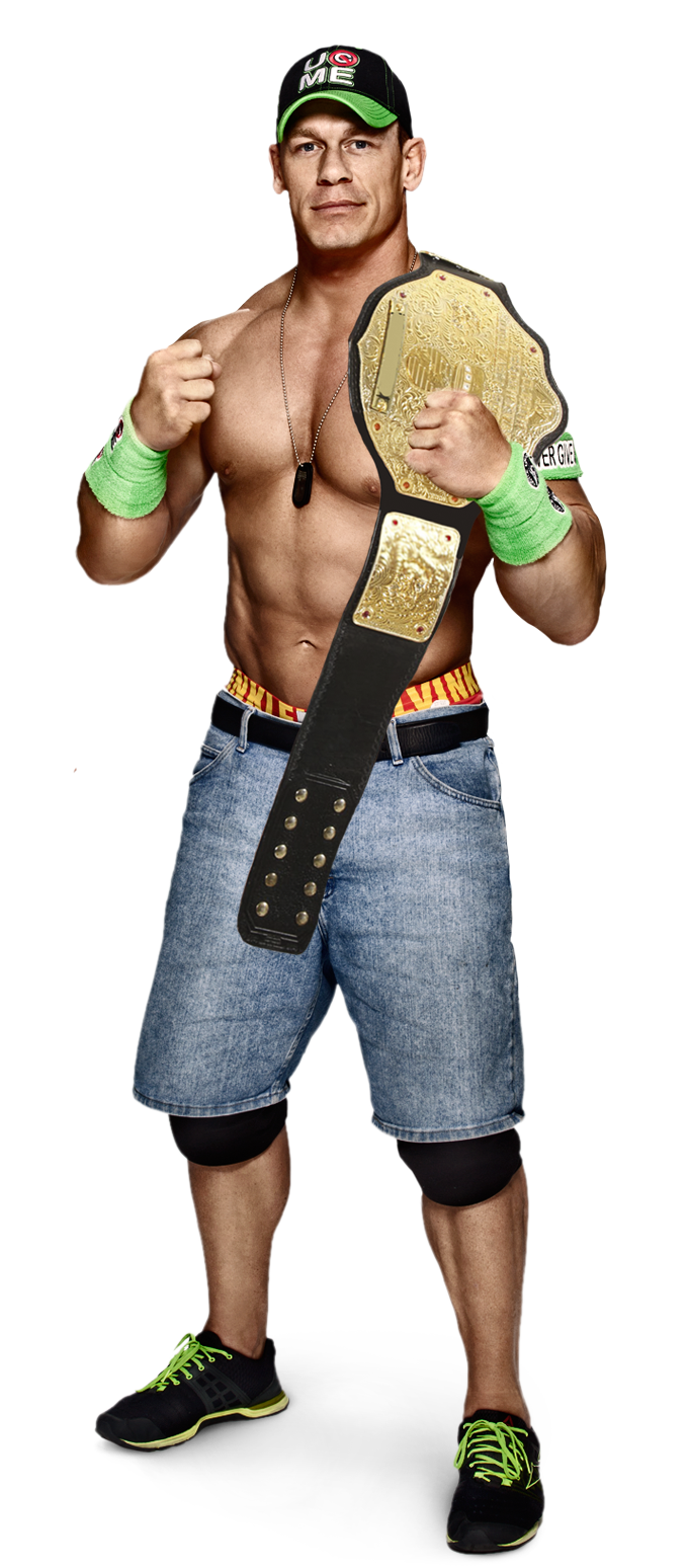 Render's by RobinWwe on DeviantArt Wwe John Cena World Heavyweight Champion 2014