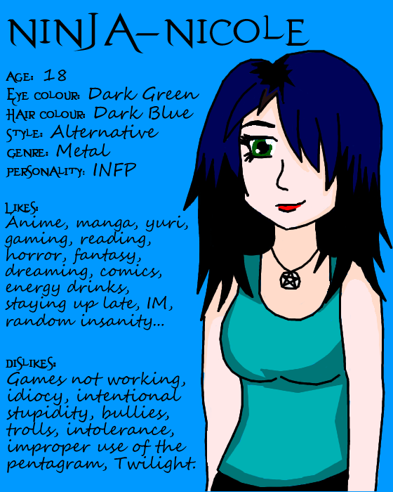 Ninja-Nicole's Profile Picture