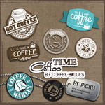 Digital Scrapbooking - Coffee Time Addon #1