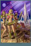 Retro Sci Fi Tales Comic- DarkOz - Cover - Issue 1