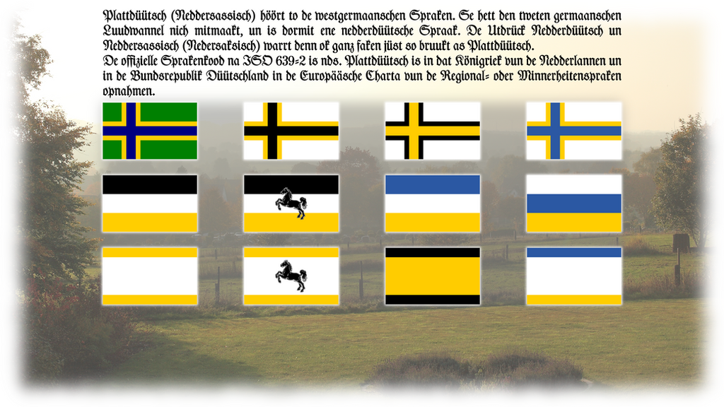 ''Flatgermany'' - the Noordlandflagg by Bikad
