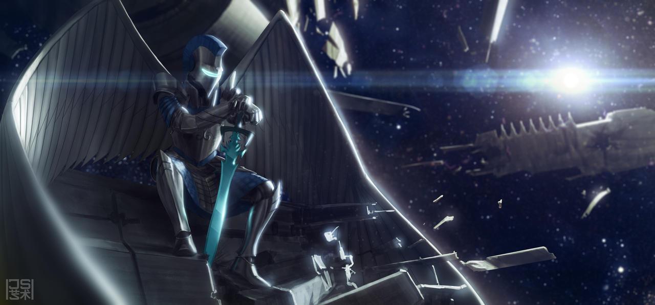 Space Sentinel by JSA-Arts