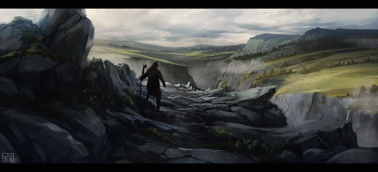 Landscape Study by JSA-Arts