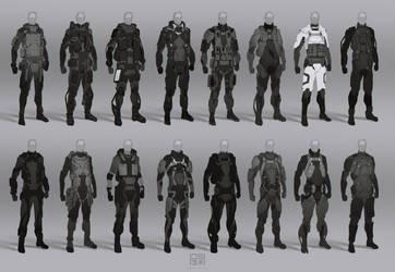 Spec ops suit thumbnails by JSA-Arts