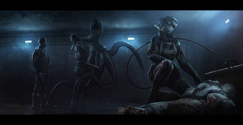 Interrogation by JSA-Arts