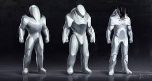 Some space suit concepts