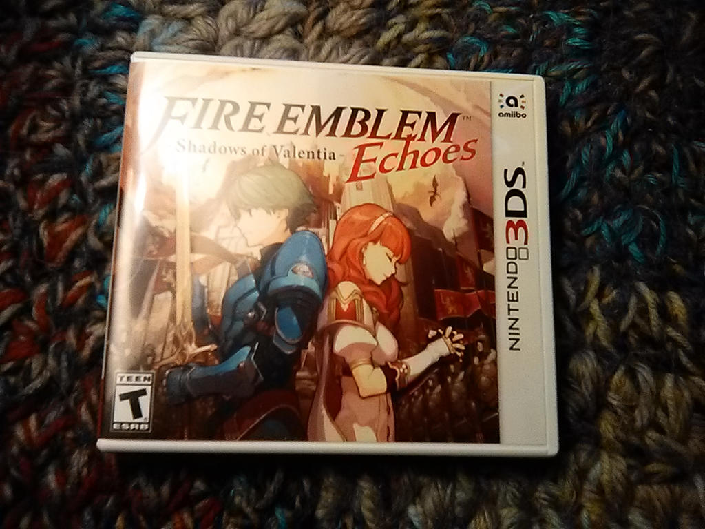 I Got Fire Emblem Echoes Shadows Of Valentia By Megaadamx On