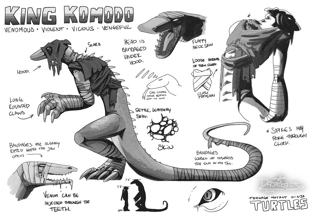 King Komodo Redesign PT1 by Noxivaga