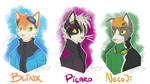 Time Sweepers: Blinx, Picaro, and NecoJi