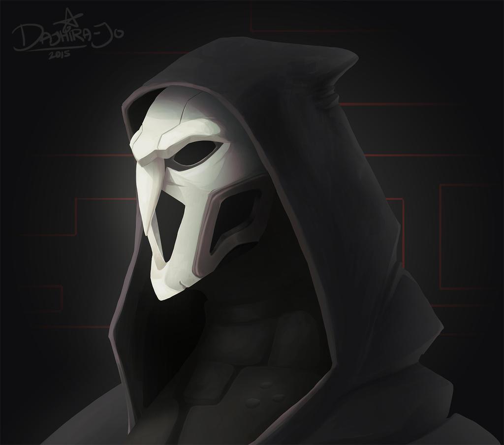 Reaper Overwatch Blizzard Mask by TheIdeaFix on DeviantArt