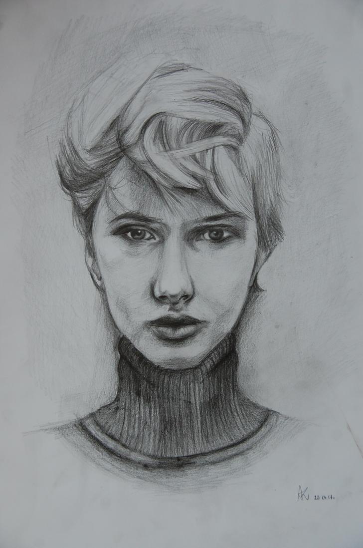 Face portrait  by ambivertartist