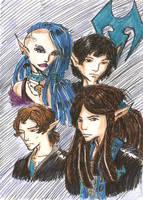 Lanoli and brothers by Rawyen