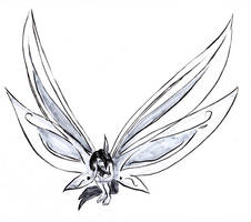 fairy tattoo design 4 by Rawyen