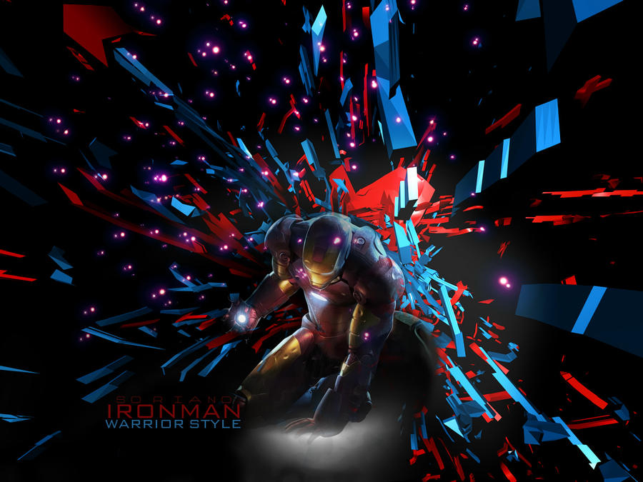 warrior style iron man by sorianodesign