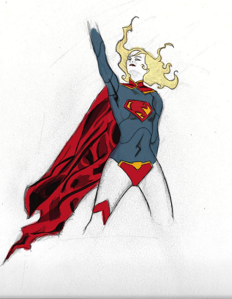 Supergirl by graycrispin1