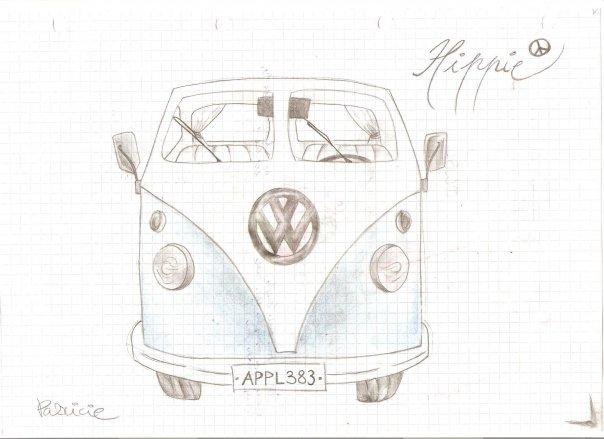 hippie car by patullen on deviantart. Black Bedroom Furniture Sets. Home Design Ideas