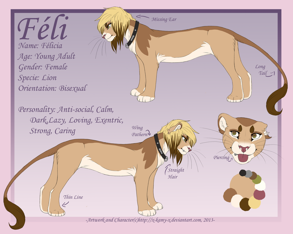 2013 Reference Sheet- Feli by Kamis-Cafe