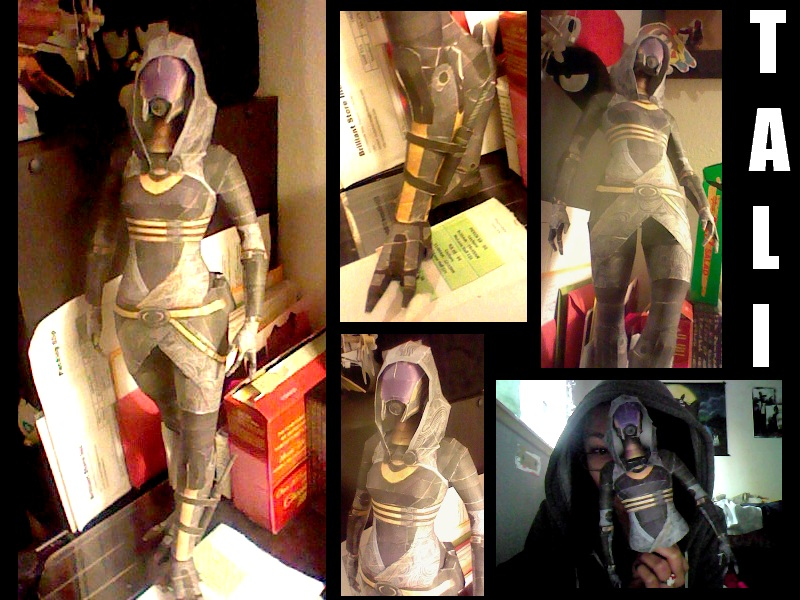 Tali from Mass Effect by hklovesboba
