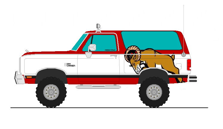 1983 Dodge Ramcharger Off Road by MEDIC1543 on DeviantArt