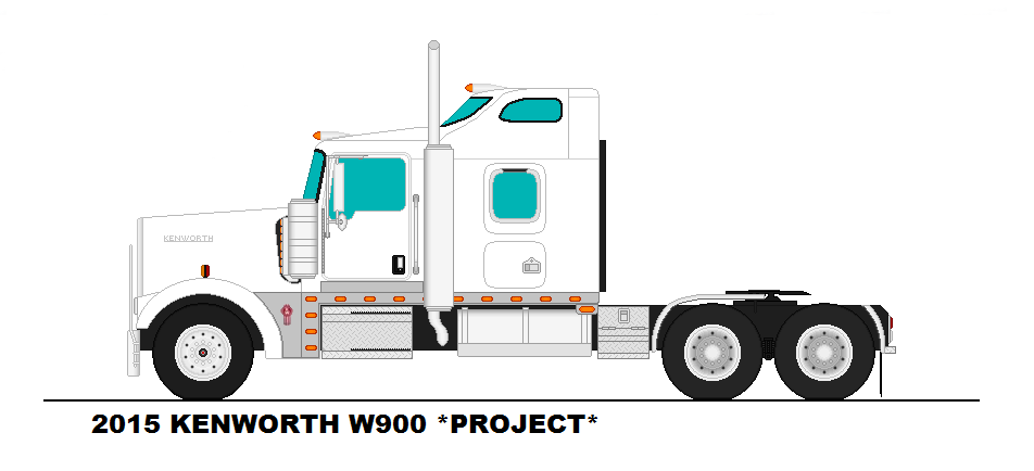 how to draw a semi truck and trailer