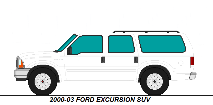 2003 Ford Excursion Suv By Medic1543 On Deviantart